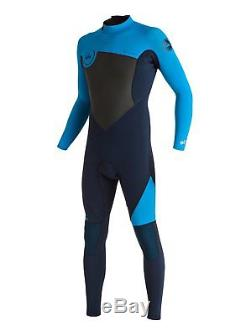 QUIKSILVER Men's 3.2 SYNCRO Back-Zip Wetsuit BYJ0 Large Tall NWT