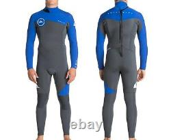 QUIKSILVER Men's 3/2 SYNCRO Back-Zip Wetsuit XKPW Large Tall NWT LAST ONE