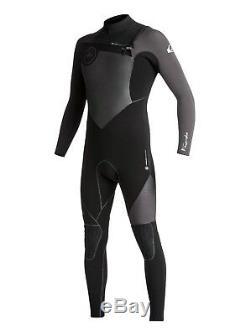QUIKSILVER Men's 4/3 HIGHLINE+ CZ Wetsuit XKKK Large Short NWT