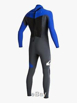 QUIKSILVER Men's 4/3 SYNCRO BZ Wetsuit XKPWX Size Large Short LAST ONE LEFT