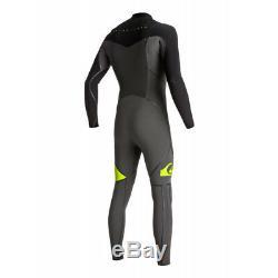 QUIKSILVER Men's 4/3 SYNCRO+ CZ LFS Wetsuit XKKG Large NWT LAST ONE