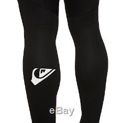 Quiksilver Prologue 4/3mm Back Zip Mens Surf Gear Wetsuit Black All Sizes