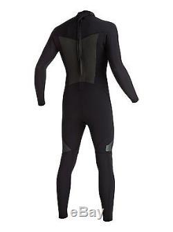 Quiksilver Syncro 3/2mm Back Zip Wetsuit Men's Black (KVJ0) 3X-Large