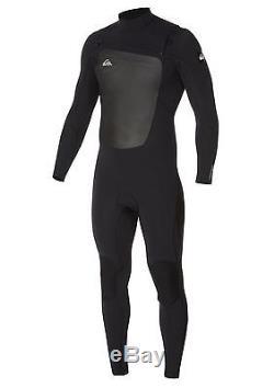 Quiksilver Syncro 4/3 Chest Zip Fullsuit men's size L wetsuit new NWT
