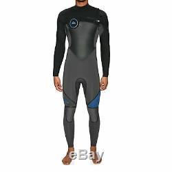 Quiksilver Syncro 5/4/3mm 2018 Chest Zip Mens Surf Gear Wetsuit Black Jet