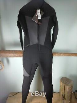 Quiksilver Syncro 543 Wetsuit Black Mens Large NWT