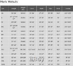 Quiksilver Syncro Plus 4/3mm CZ Wetsuit Men's Black/Yellow (XKKG) Large