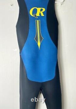 Quintana Roo Mens Large Triathlon Neoprene Long Sleeve Wet Suit Swimming, Mint