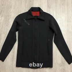 RARE Volcom Wetsuit Jacket Mens Large Front Zip Team Rider Ozzie Wright Collared