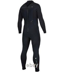 RIP CURL Men's 3/2 DAWN PATROL BZ Wetsuit BLK Large Short NWT
