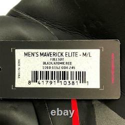 ROKA Men's Black Atomic Red Size Medium/ Large Maverick Elite Wetsuit Fullsuit