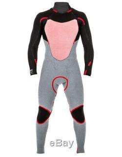 Rip Curl Dawn Patrol 3/2mm Back Zip Wetsuit Men's X-Large, Black