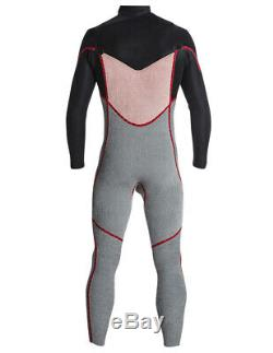 Rip Curl Dawn Patrol 3/2mm Chest Zip Wetsuit Men's X-Large, Black