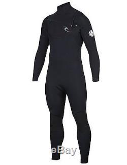 Rip Curl Dawn Patrol C/Zip 32Gb St Surfing Wetsuit, Black, Large