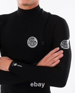 Rip Curl E-Bomb 3/2 Zip Free Wetsuit Men's X-Large / Black