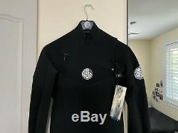Rip Curl E-Bomb Flash 3/2mm Chest Zip Fullsuit Wetsuit Men's Large Tall NEW