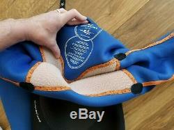 Rip Curl Flash Bomb 4/3 Men's Wetsuit Size L Black USED 4 times Large