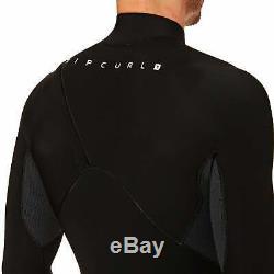 Rip Curl Flashbomb 4/3mm 2019 Zipperless Mens Surf Gear Wetsuit Black