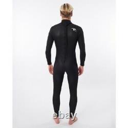 Rip Curl Freelite 3/2mm Back Zip Mens Wetsuit 2021 Black