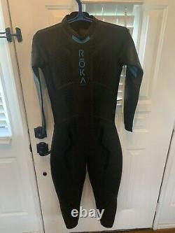 Roka Maverick Comp II Triathlon Wetsuit MEN size M/L Medium Large Worn 4 Times