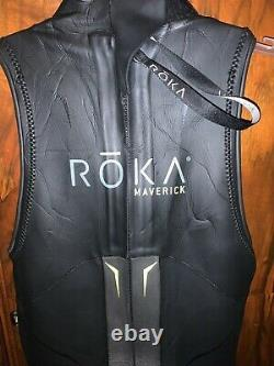 Roka Maverick Pro Sleeveless Wetsuit Excellent Condition