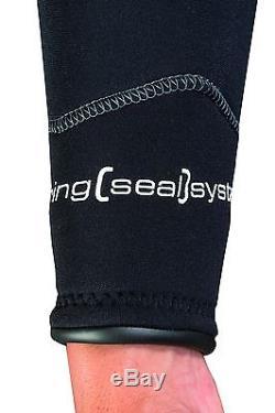 SEAC Mens Alien 5mm Neoprene Backzip Scub Dive Snorkel Surf Wetsuit