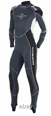 ScubaPro Profile Men's 0.5mm Wetsuit (Black / Gray / White, X-Large)