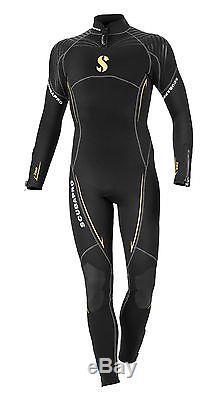 Scubapro Definition Steamer 3mm Men's Scuba Wetsuit Black/Yellow Large