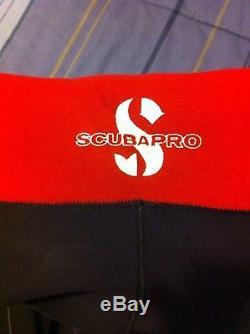 Scubapro EverFlex C-Zip Steamer 3/2mm Men's Wetsuit, Black/Grey, Size Large