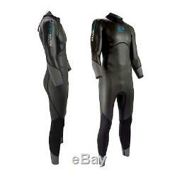 Sola Mens Open Water Fullsuit Swimming Wetsuit Triathlon Smooth Skin Neoprene