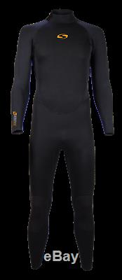 Sola Mens Wetsuit 5/4 Blaze size large