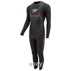 Speedo Proton Thinswim Triathlon Mens Swimming Fullsuit Swimsuit Wetsuit Black
