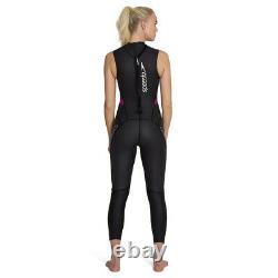 Speedo Proton Thinswim Triathlon Womens Swimming Sleeveless Wetsuit Black