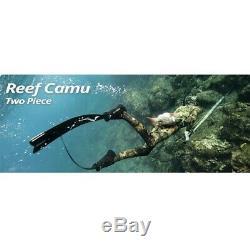 Sporasub Reef Wetsuit Camouflage Apnea Neoprene 0 3/16in Open Cell Wetsuit
