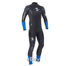 Sport Steamer 2.5mm mens wetsuit LARGE NEW BLACK/BLUE