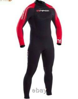 Storm Full wetsuit mens chest size 42 5mm Black L Typhoon Autumn 5ft 8 to 6ft