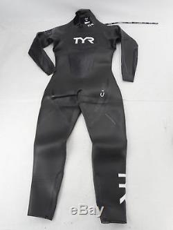 TYR HCCOM6A Men's Hurricane Wetsuit Category 2, Black/Grey, Medium/Large