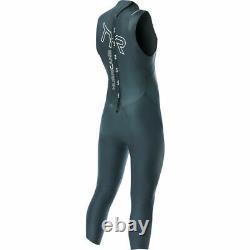TYR Hurricane Cat 1 Sleeveless Wetsuit Black, Men's, 2X-Large