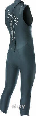 TYR Hurricane Cat 1 Sleeveless Wetsuit Black Men's Medium/Large