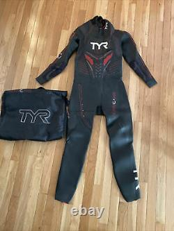 TYR Men's Hurricane Category 5 Wetsuit Size Large