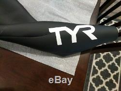 TYR Men's Hurricane Sleeveless Wetsuit Category 1, Black/White, Medium/Large