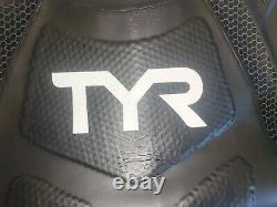 TYR Men's Medium Large Black Wetsuit HURRICANE CAT 2 Neoprene Full Swim Tri New