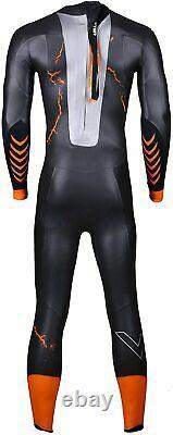 UTTER Triathlon Wetsuits Mens 5mm Neoprene Wetsuits Fullsleeve Volacano X-Large