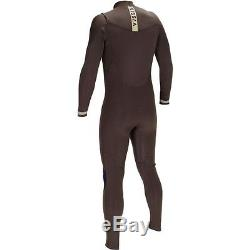 VISSLA Men's 3/2 SEVEN SEAS Chest-Zip Full Wetsuit DBR Size Large NWT