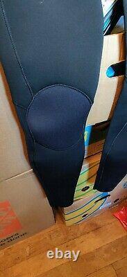 VISSLA Men's 3/2 SEVEN SEAS TRIPPER CZ Wetsuit -BLK Large