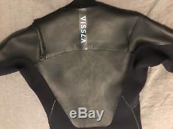 Vissla North Seas Chest Front Zip 3/2 Full Wetsuit X-Large XL