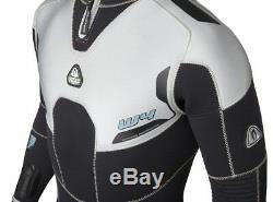 WATERPROOF W4 Mens 5mm MICRO CELL Neoprene Scuba Diving Semi Dry Wetsuit