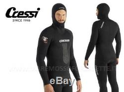 WETSUIT DIVING CRESSI SUB APNEA 0 3/16in COATED INSIDE WETSUIT SIZE 5 X LARGE
