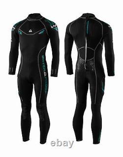 Waterproof Men's W30 2.5mm Full Wetsuit Large Black