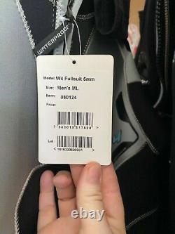 Waterproof W4 5mm Back-Zip Full Wetsuit